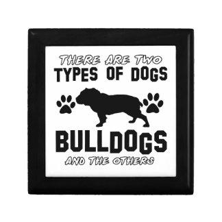 bulldog DOG designs Gift Box