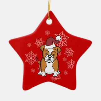 Bulldog Dog Ornament