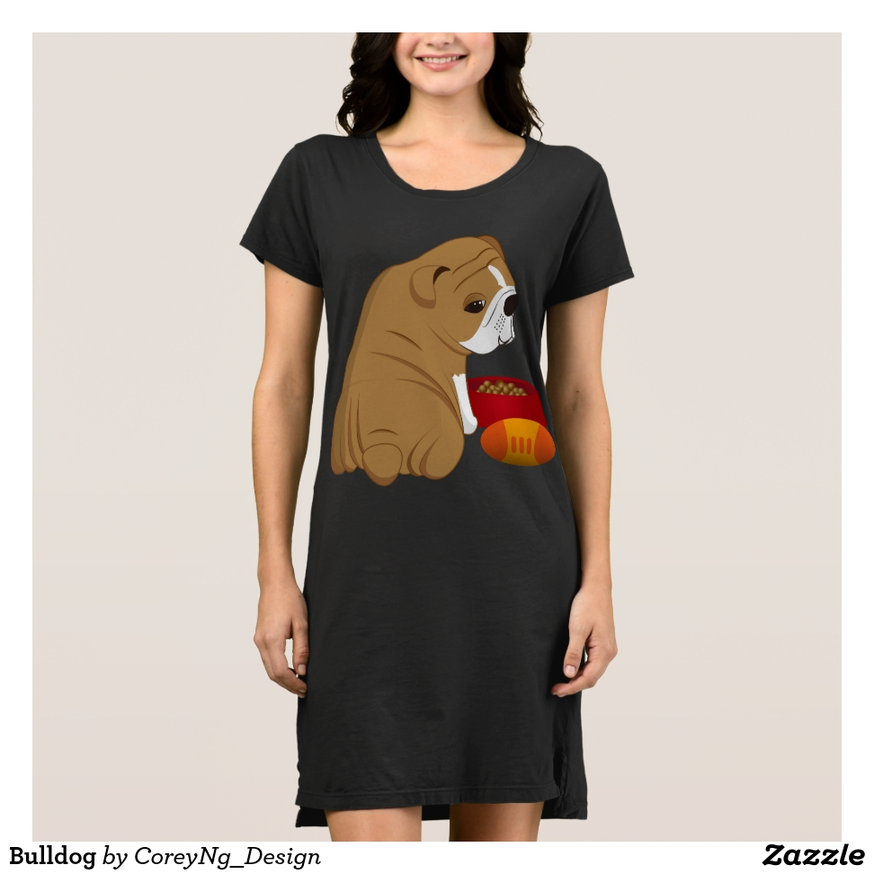 Bulldog Dress - Curve-Hugging Women's Fashion