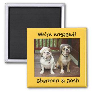 Bulldog engagement magnet
