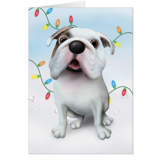 Bulldog (English) Christmas BULLD1 Card