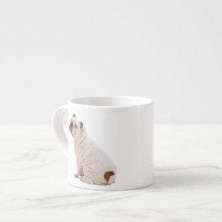 Bulldog Espresso Mug 6 Oz Ceramic Espresso Cup