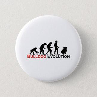 Bulldog Evolution Pinback Button