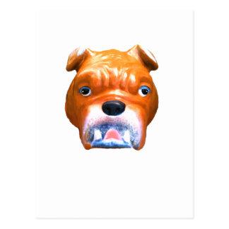 Bulldog Face Vero Beach The MUSEUM Zazzle Gifts Postcard