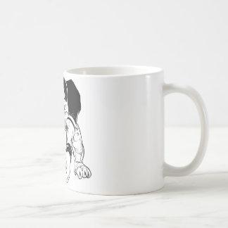 Bulldog Football Coffee Mug