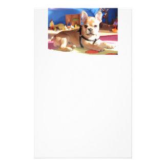 Bulldog francés papel de cartas papeleria