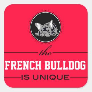 Bulldog francés pegatina