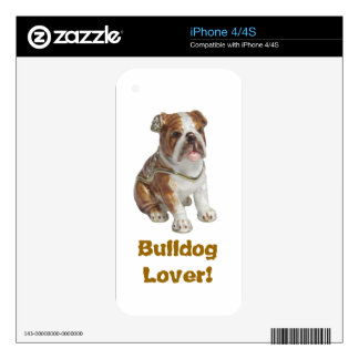 Bulldog Gift iPhone 4/4S Cell Phone Cover Case iPhone 4S Skin