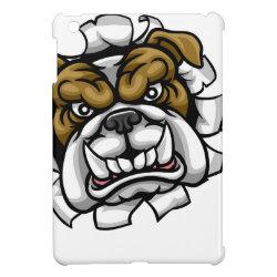 Case Savvy iPad Mini Glossy Finish Case with Bulldog Phone Cases design