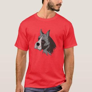 Bulldog Head Graphic Design on T-Shirt