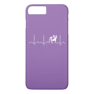 BULLDOG HEARTBEAT iPhone 8 PLUS/7 PLUS CASE