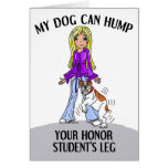 Bulldog Honor Student Cards