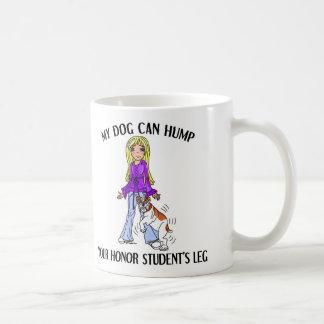 Bulldog Honor Student Classic White Coffee Mug