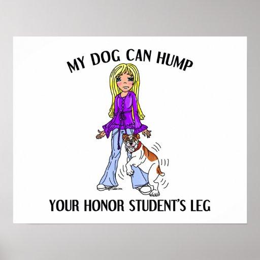 Bulldog Honor Student Poster