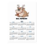 bulldog humbug business card template