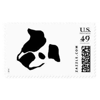 Bulldog image stamps