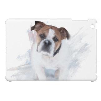 Bulldog In The Snow iPad Mini Covers