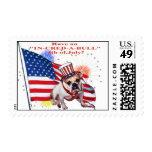 Bulldog - Independence Day Celebration Postage