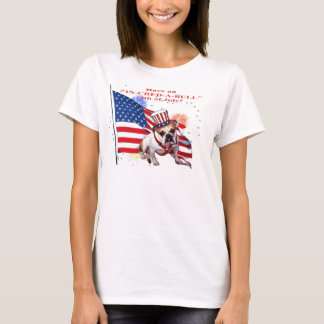 Bulldog - Independence Day Celebration T-Shirt