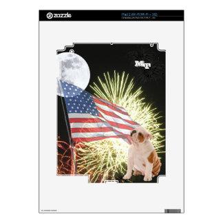 Bulldog iPad 2 (Wi-Fi/Wi-Fi + 3G) Custom Skin iPad 2 Decals