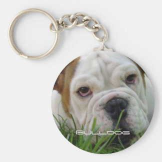Bulldog Keychain