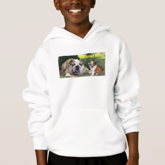 Bulldog Kids Unisex Hooded Sweatshirt