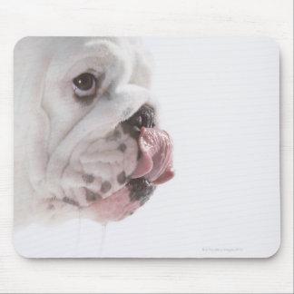 Bulldog Licking Mousepad