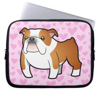 Bulldog Love Computer Sleeve