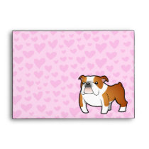 Bulldog Love Envelope