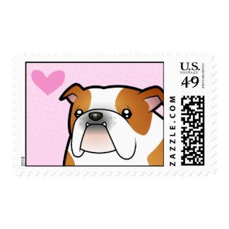 Bulldog Love Stamp