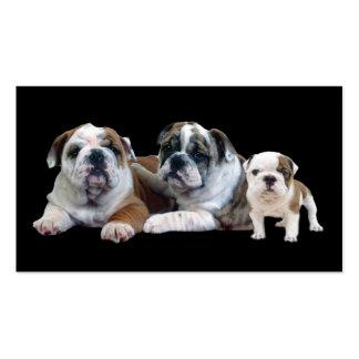 Bulldog Lover Business Card