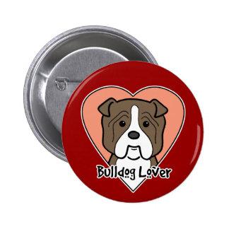 Bulldog Lover Pins