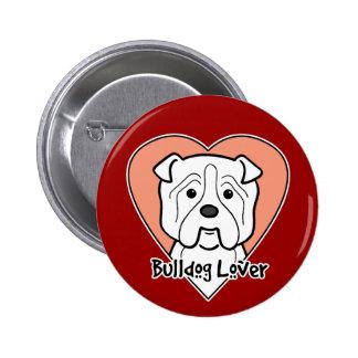 Bulldog Lover Pinback Button