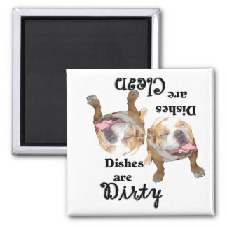 Bulldog Lovers Dishwasher Magnet