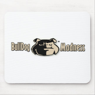Bulldog Madness Signature logo Mouse Pad