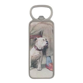 Bulldog Magnetic Bottle Opener