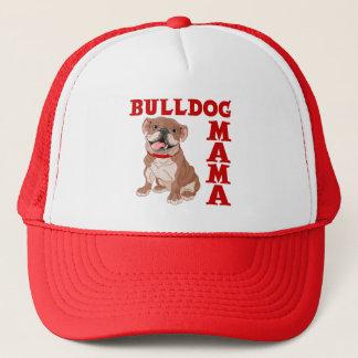 BULLDOG MAMA TRUCKER HAT