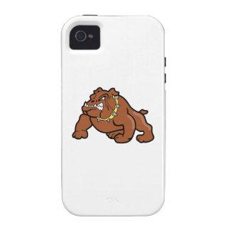BULLDOG MASCOT iPhone 4/4S CASES