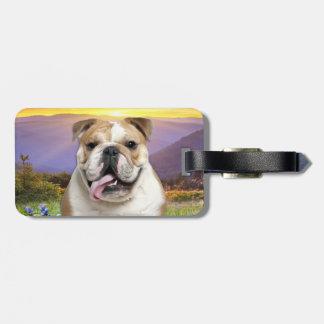 Bulldog Meadow Bag Tag