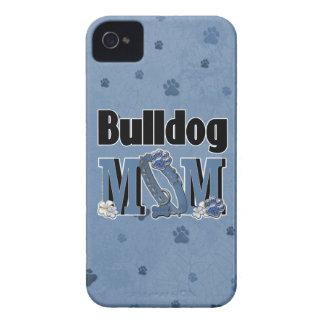 Bulldog MOM - Blue iPhone 4 Cover