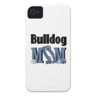 Bulldog MOM - Blue iPhone 4 Case-Mate Case