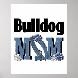 Bulldog MOM - Blue Print