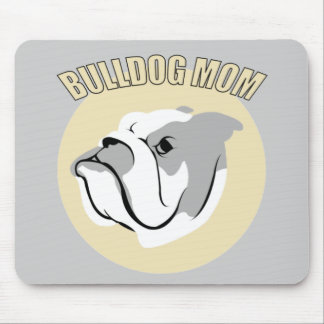 Bulldog Mom Mouse Pad