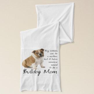 Bulldog Mom Scarf