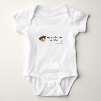 bulldog - more breeds baby bodysuit