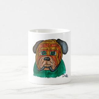 Bulldog mosquito classic white coffee mug