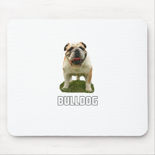 Bulldog Mouse Pad