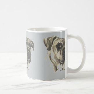 Bulldog Mug with original artwork by Carol Zeock