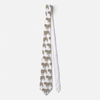 Bulldog Neck Tie
