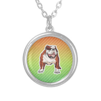 Bulldog Personalized Necklace